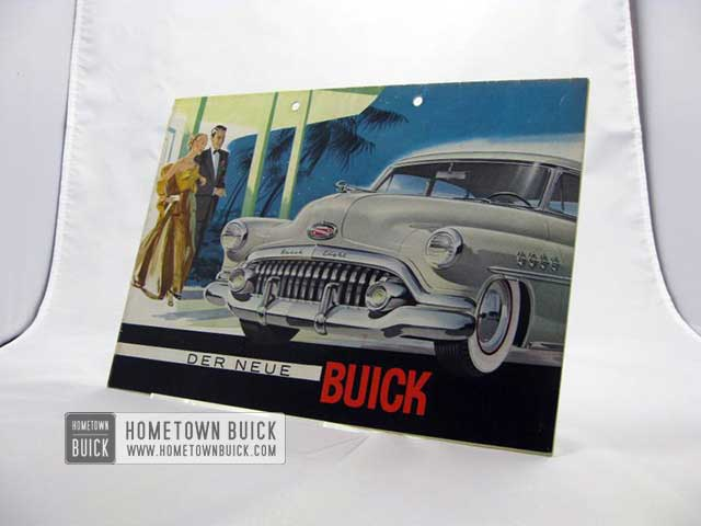 1952 Buick Sales Brochure