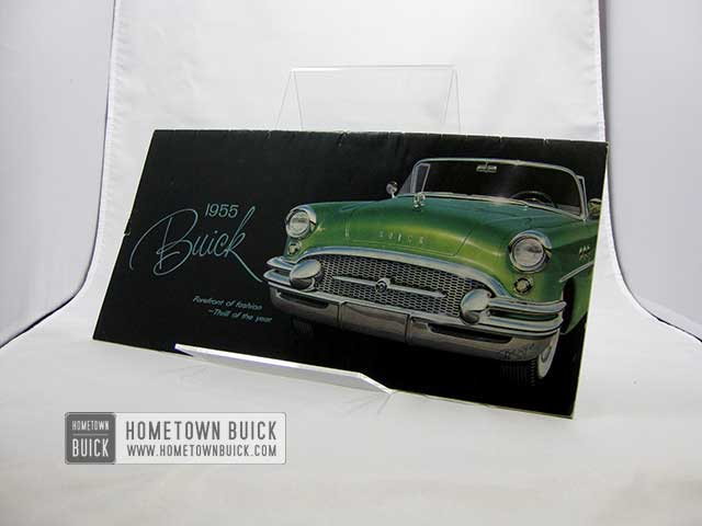 1955 Buick Sales Brochure