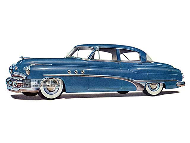 1951 Buick Super Sedan - Model 51 HB
