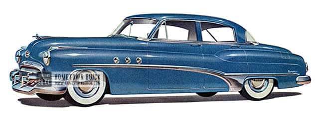1951 Buick Super Sedan - Model 51