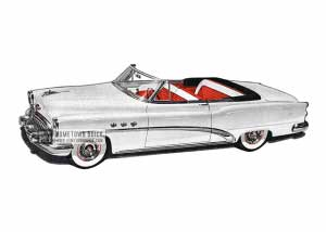 1953 Buick Special Convertible - Model 46C HB