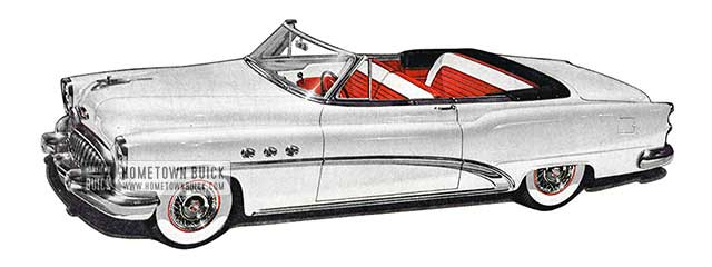 1953 Buick Special Convertible - Model 46C