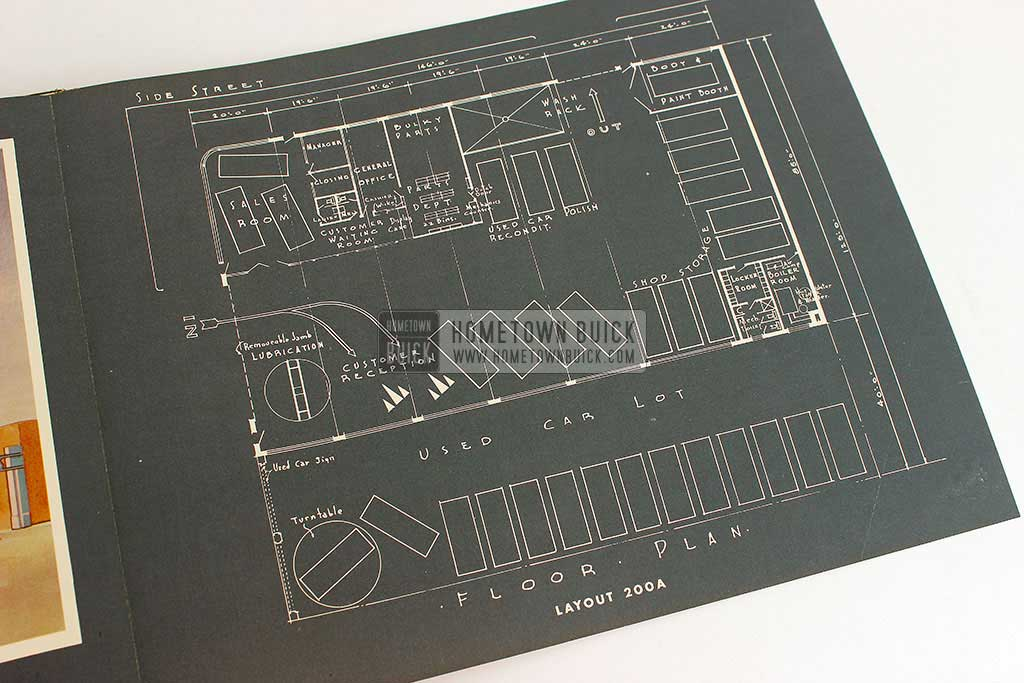 1944 Buick Dealership Building Layout Guide 12