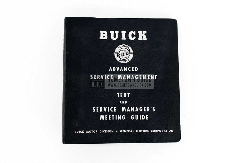 1950 Buick Advanced Service Management Book 02