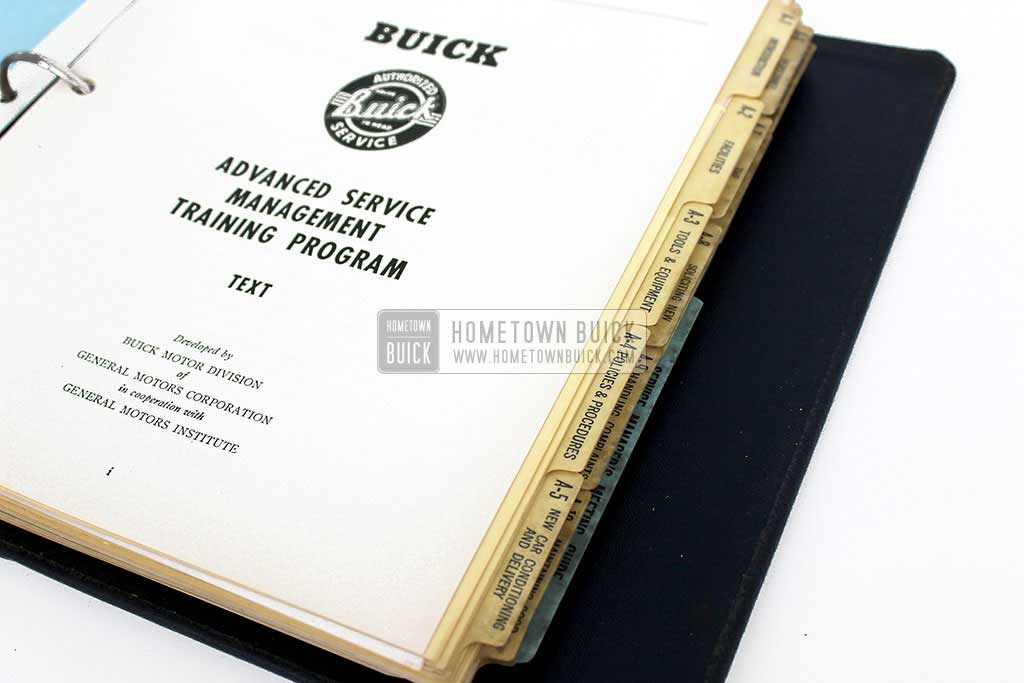1950 Buick Advanced Service Management Book 08
