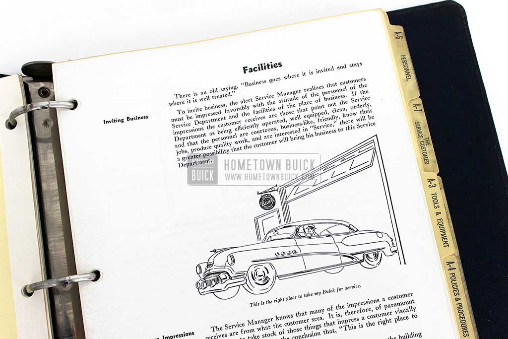 1950 Buick Advanced Service Management Book 09
