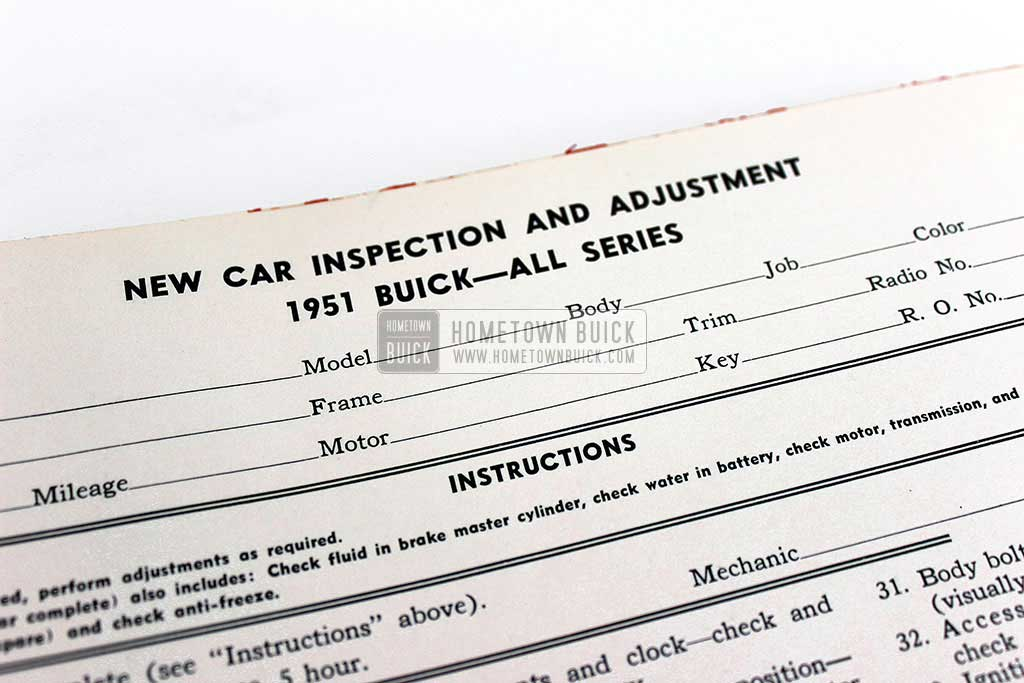 1950 Buick Advanced Service Management Book 12
