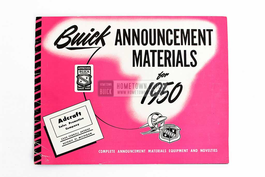 1950 Buick Announcement Material Brochure 02