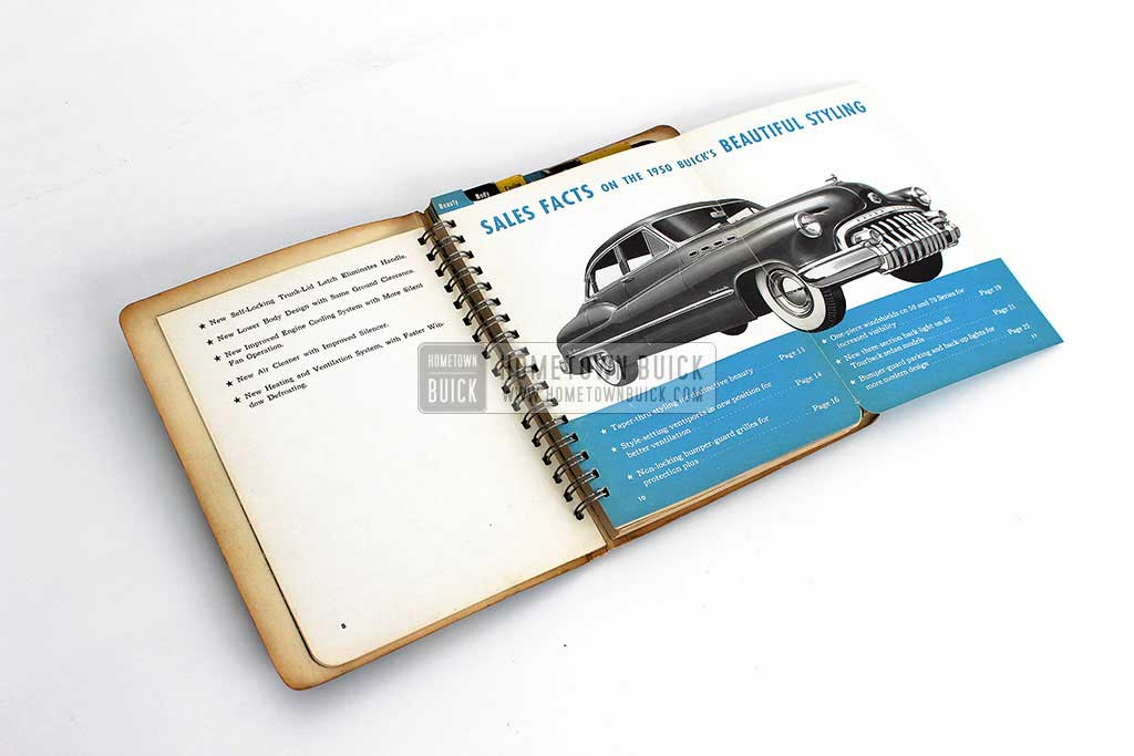1950 Buick Dealer Facts Book 06