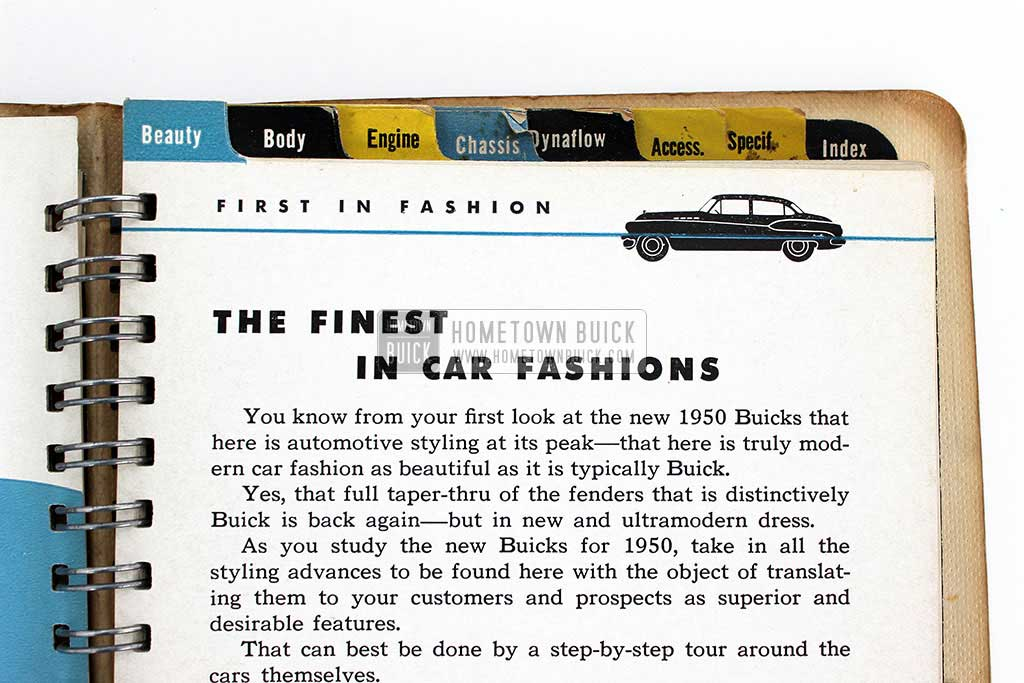1950 Buick Dealer Facts Book 07