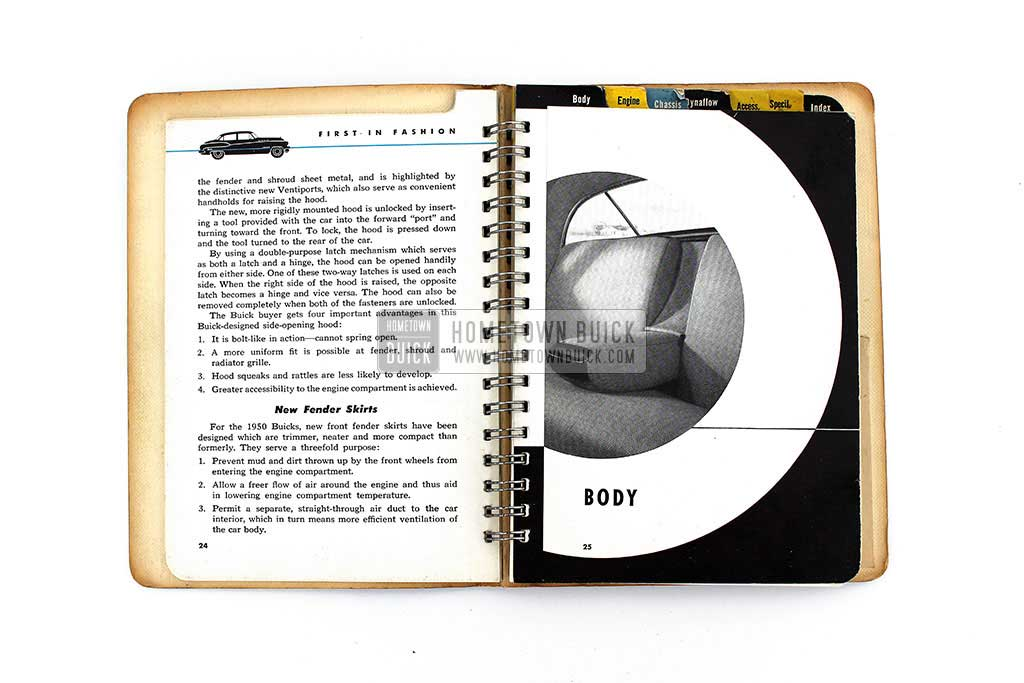 1950 Buick Dealer Facts Book 08