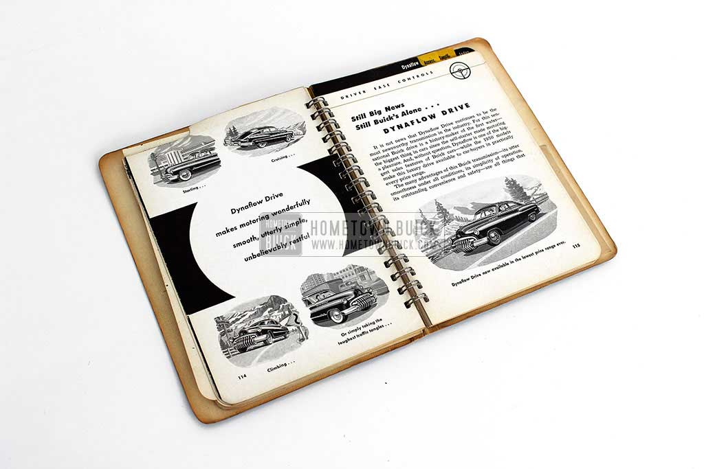 1950 Buick Dealer Facts Book 14