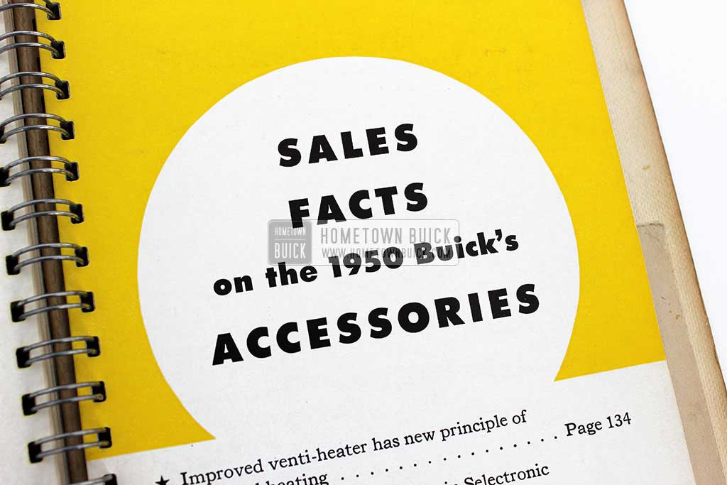 1950 Buick Dealer Facts Book 15