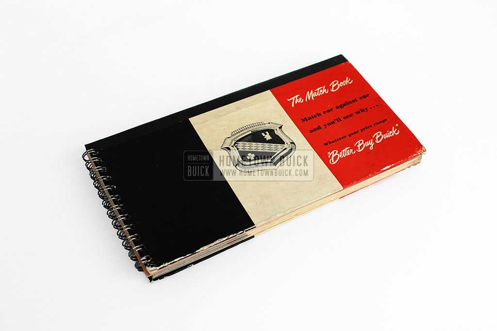 1950 Buick Match Book 01