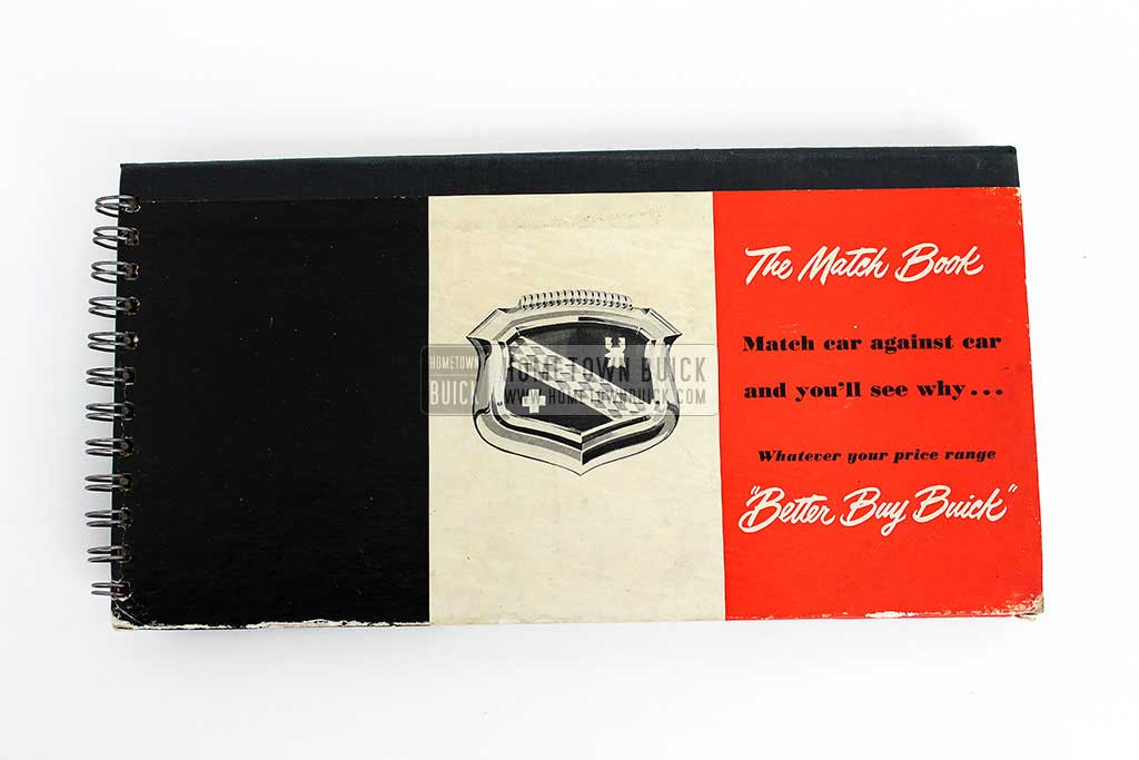 1950 Buick Match Book 02
