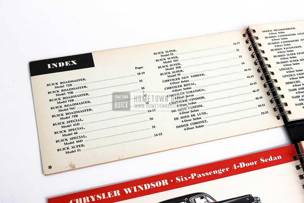 1950 Buick Match Book 05