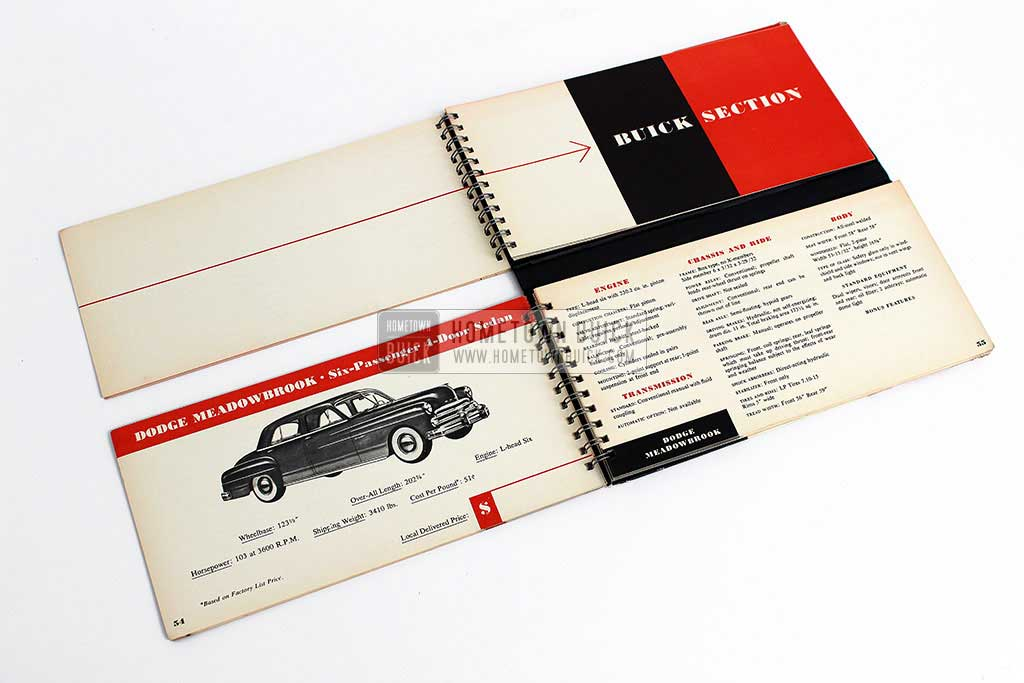 1950 Buick Match Book 06