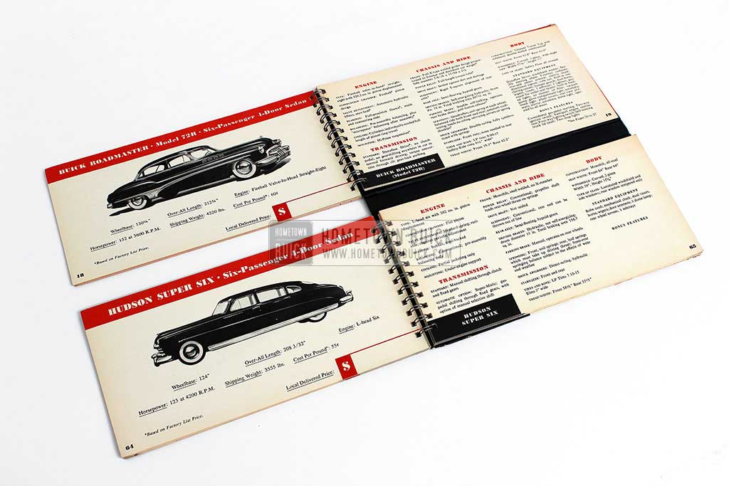 1950 Buick Match Book 07