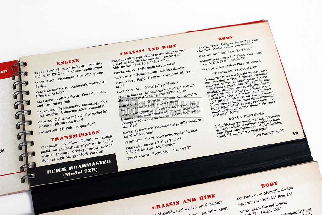 1950 Buick Match Book 08