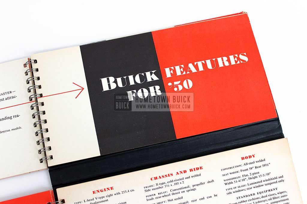1950 Buick Match Book 09
