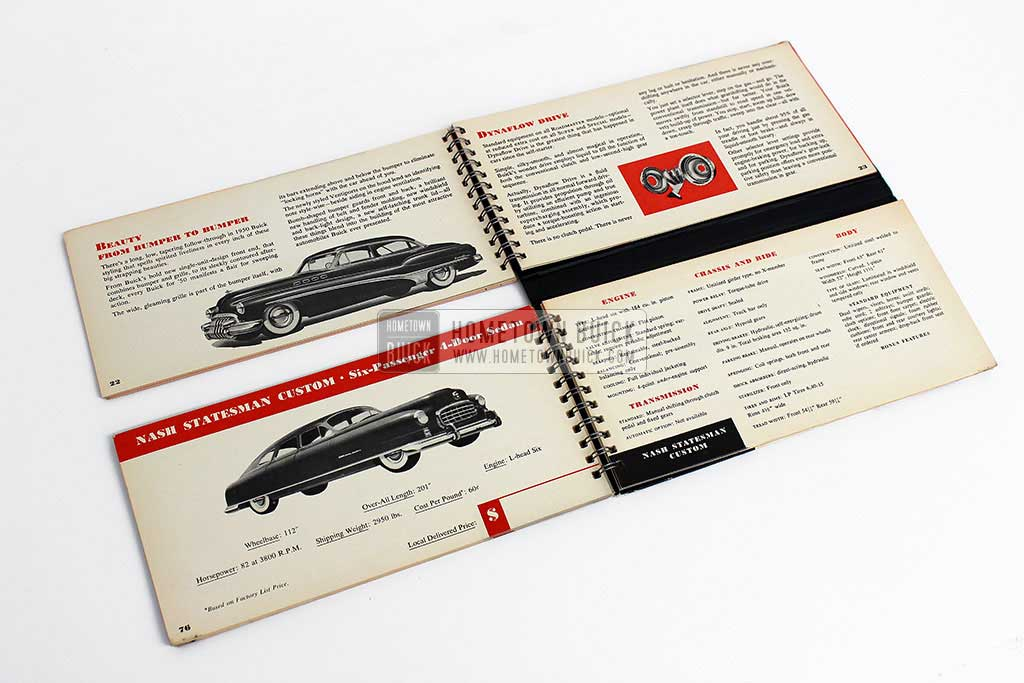 1950 Buick Match Book 10