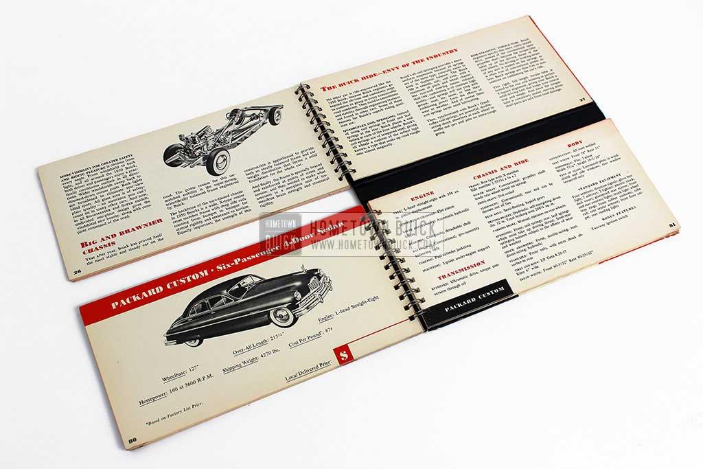 1950 Buick Match Book 11