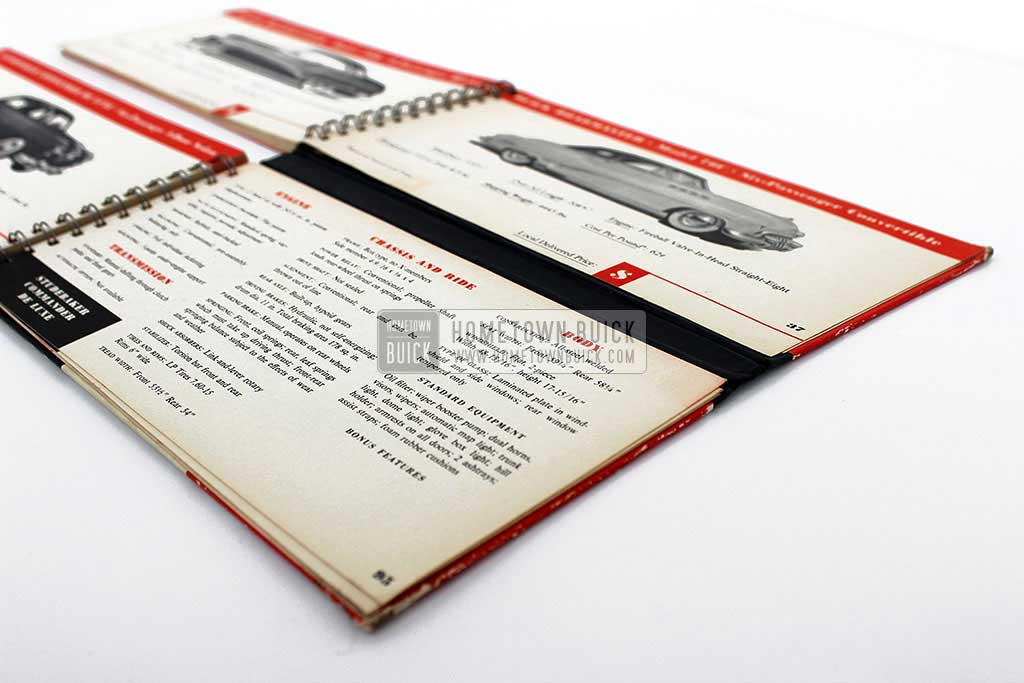 1950 Buick Match Book 13