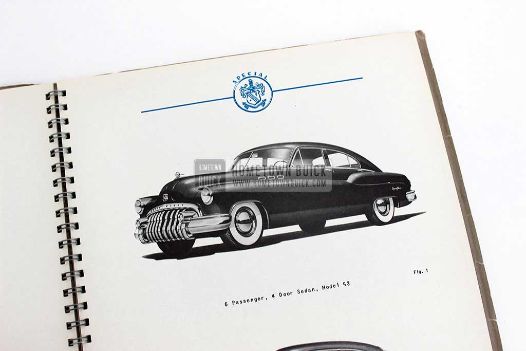 1950 Buick Special Engineering Data Book 05