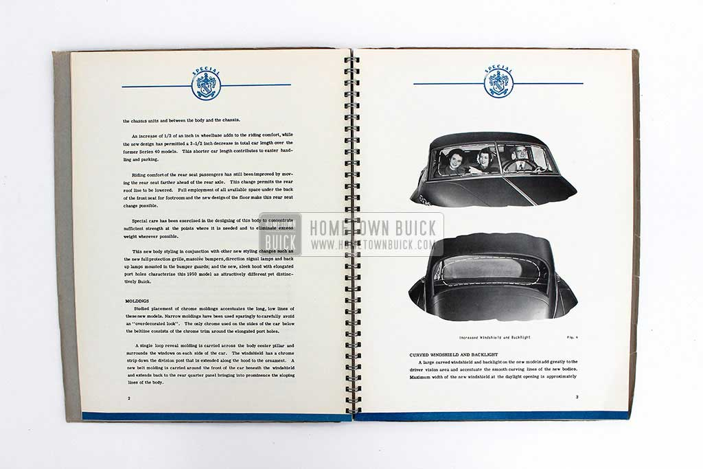 1950 Buick Special Engineering Data Book 06
