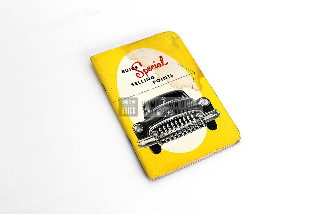 1950 Buick Special Selling Points Book 01