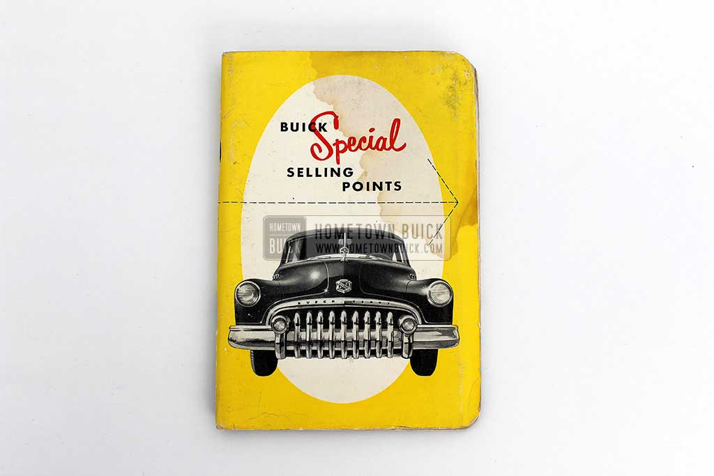 1950 Buick Special Selling Points Book 02
