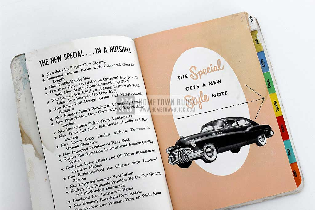 1950 Buick Special Selling Points Book 04