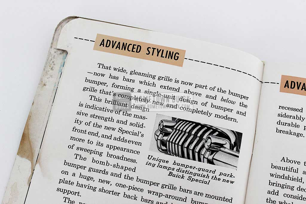 1950 Buick Special Selling Points Book 05