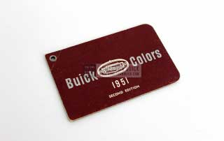 1951 Buick Color Selector 02