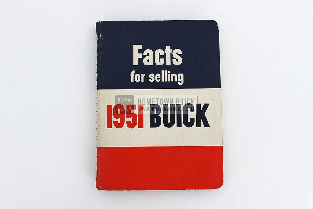 1951 Buick Dealer Facts Book 02