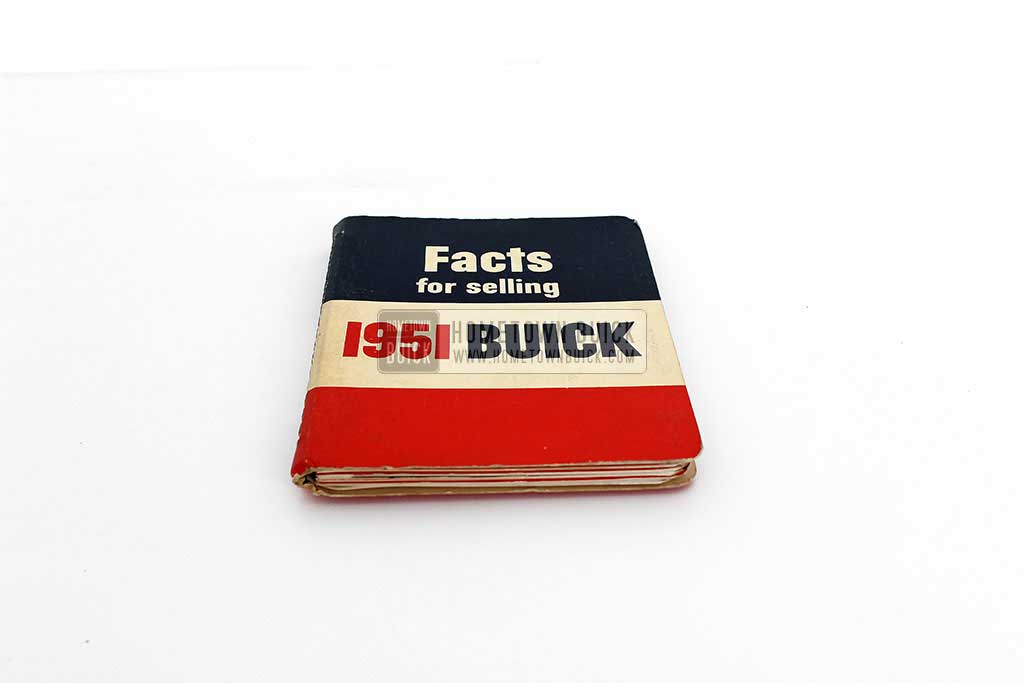 1951 Buick Dealer Facts Book 03