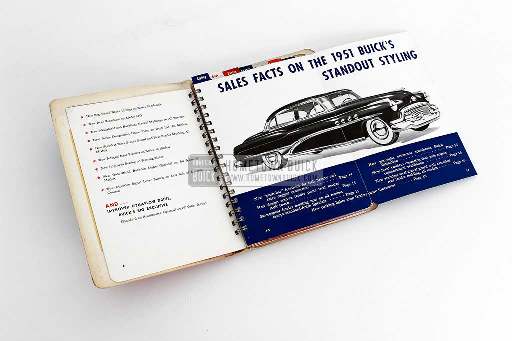 1951 Buick Dealer Facts Book 06