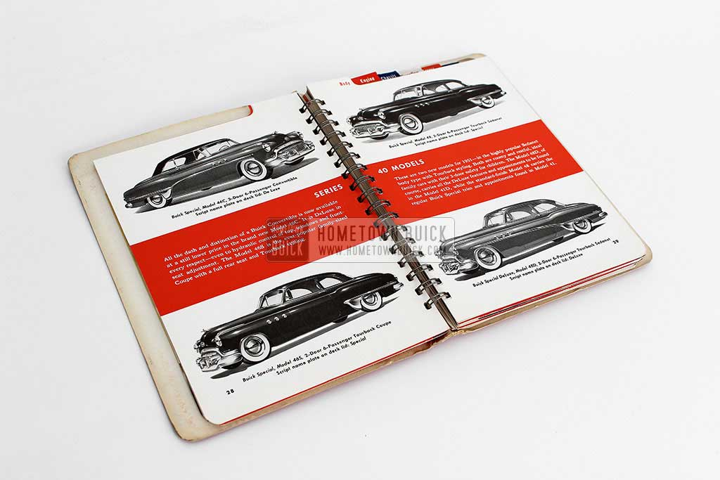 1951 Buick Dealer Facts Book 10