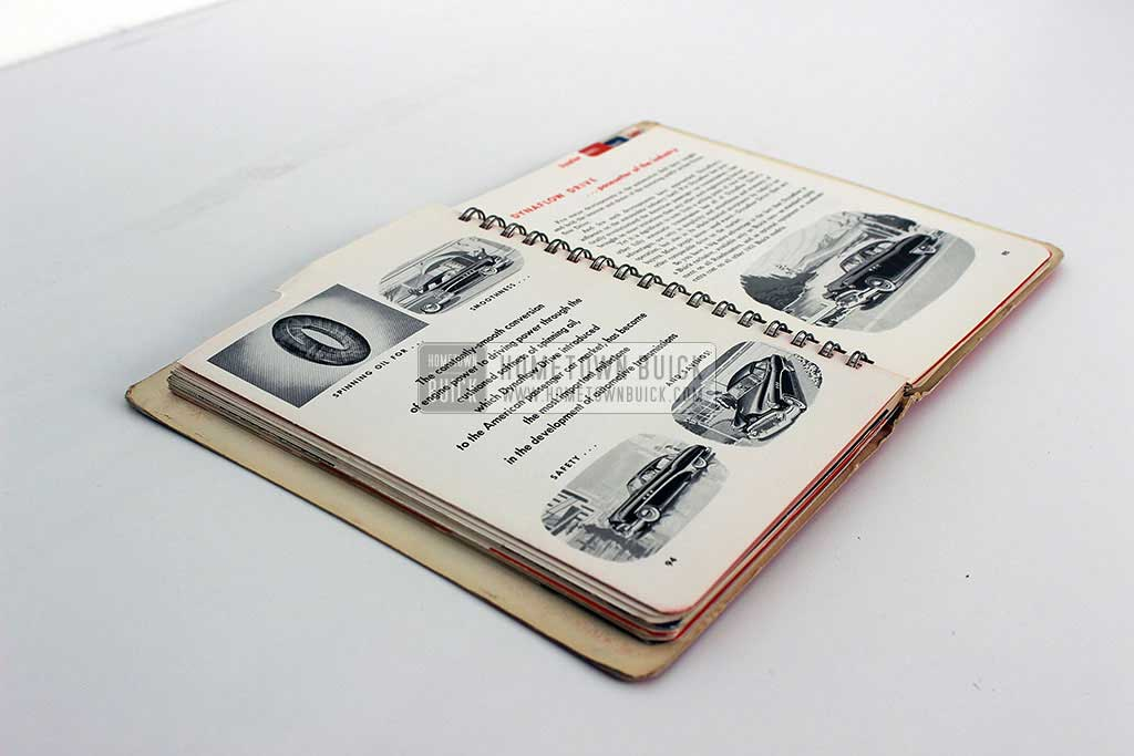 1951 Buick Dealer Facts Book 16