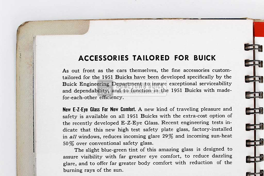 1951 Buick Dealer Facts Book 17