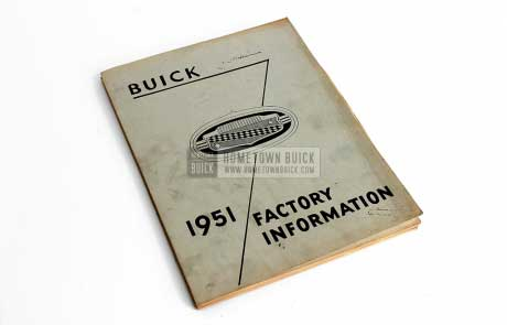 1951 Buick Factory Information Book 01