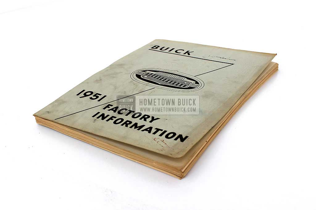 1951 Buick Factory Information Book 03