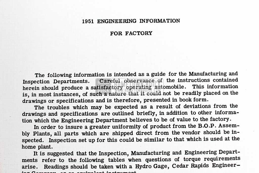 1951 Buick Factory Information Book 05