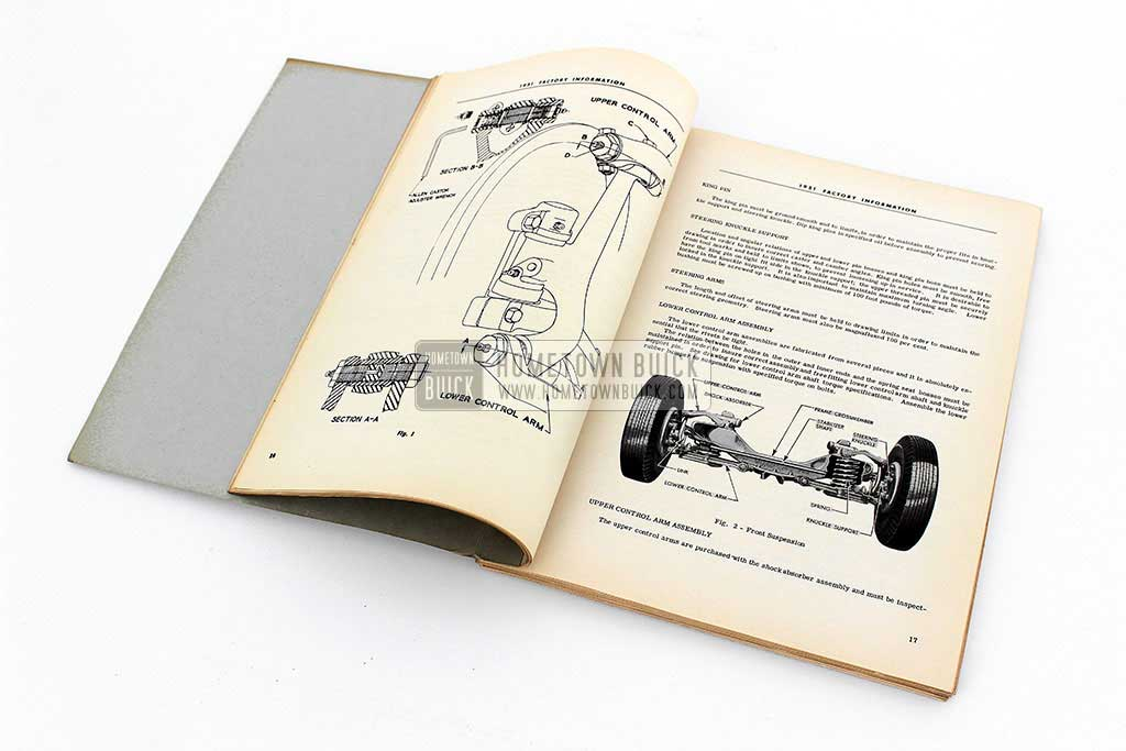 1951 Buick Factory Information Book 07
