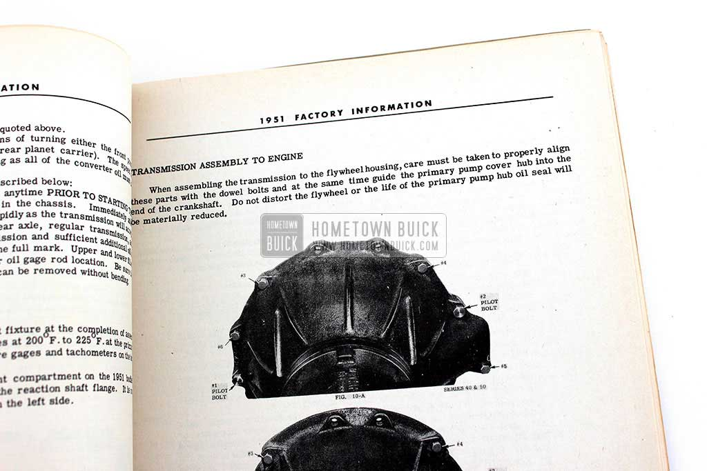 1951 Buick Factory Information Book 09
