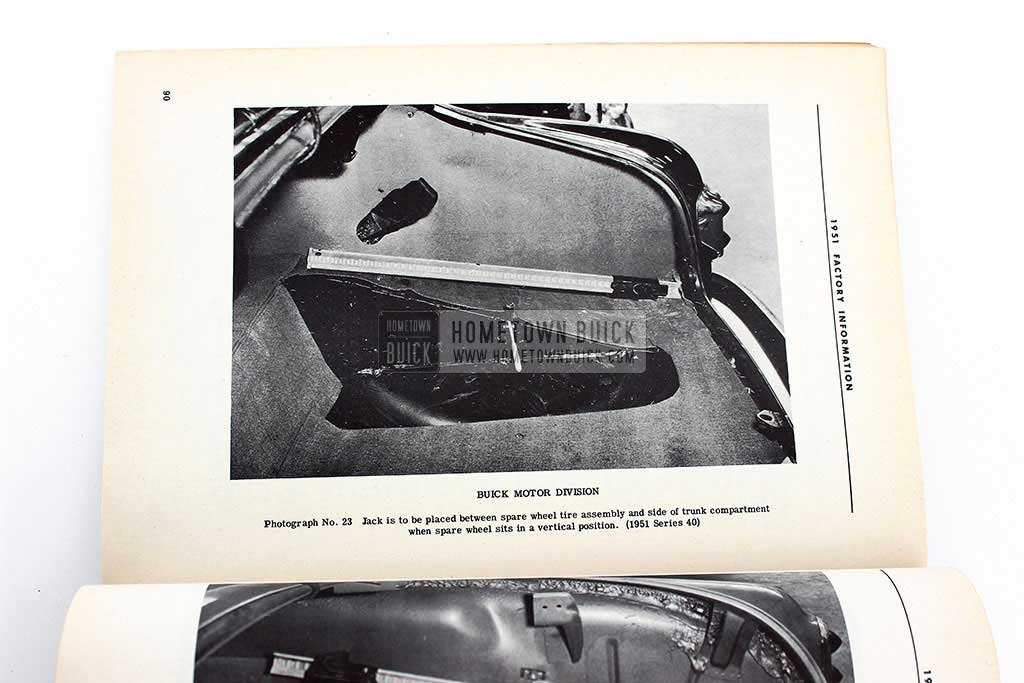 1951 Buick Factory Information Book 12