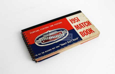 1951 Buick Match Book 01