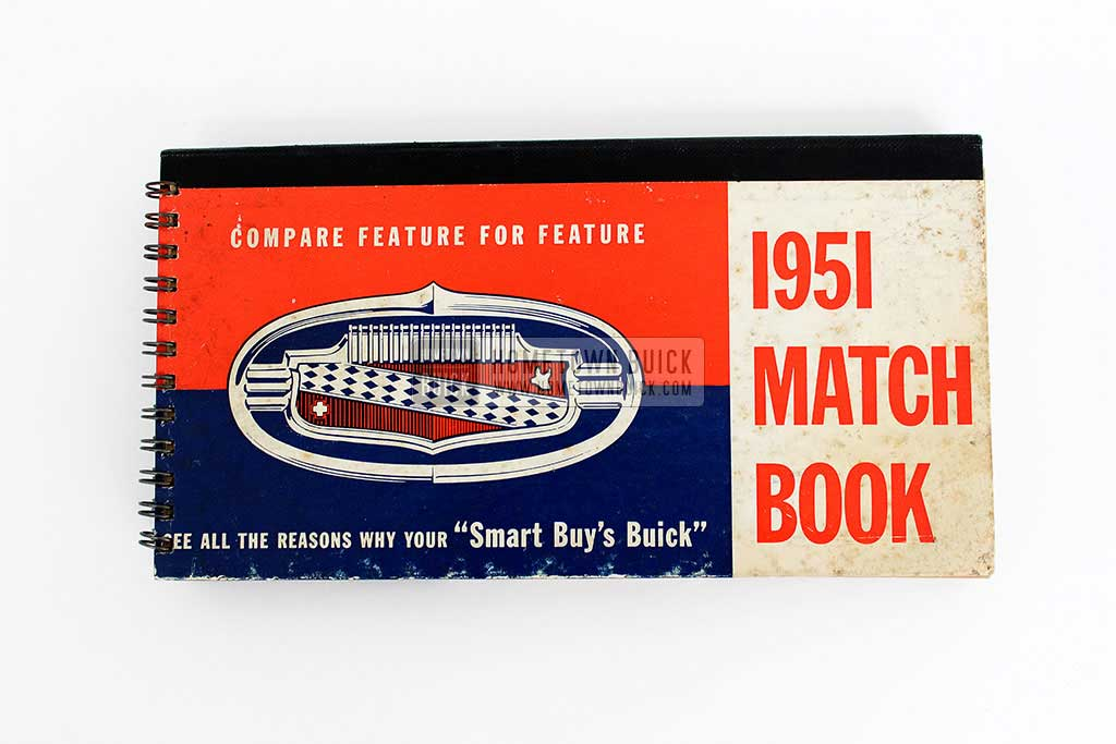 1951 Buick Match Book 02