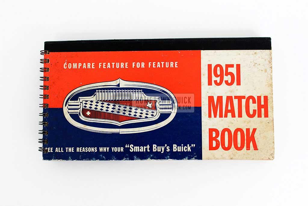 1951 Buick Match Book 02