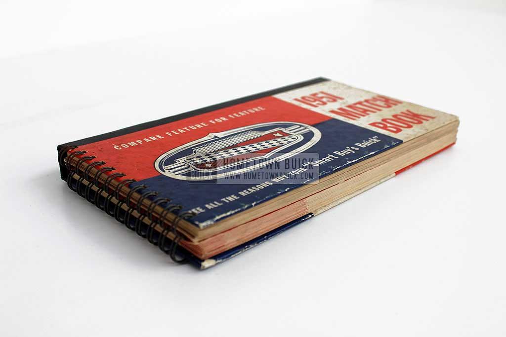 1951 Buick Match Book 03